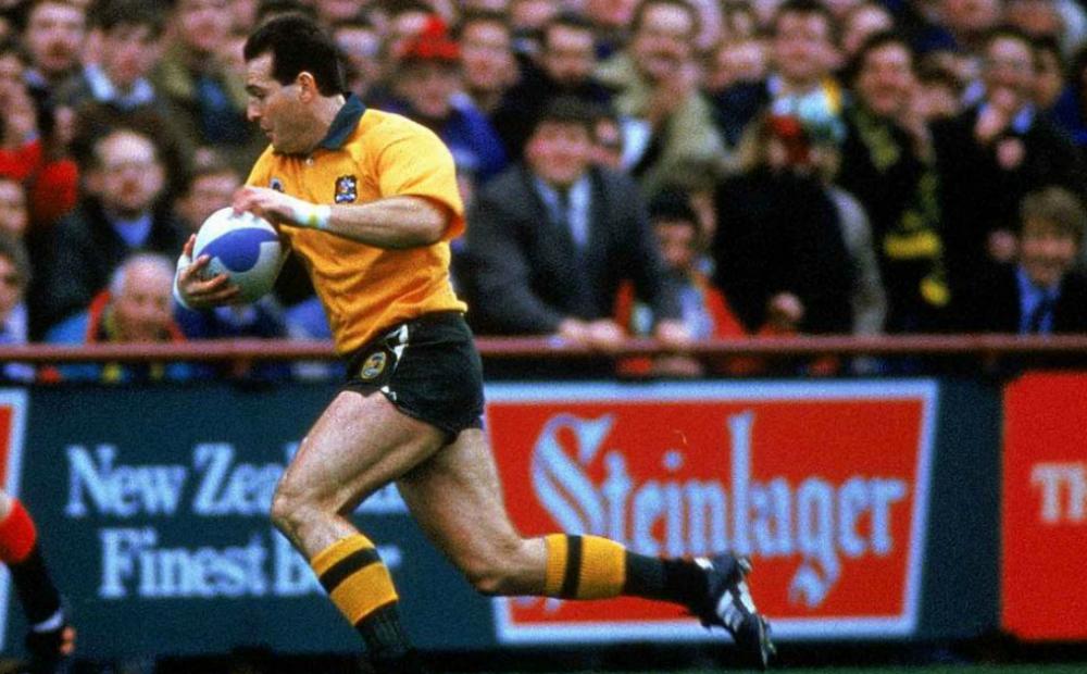 Campese fue un extraordinario jugador de rugby. Disputó tres mundiales con los Wallabies.